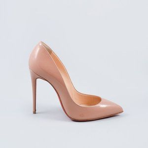 Christian Louboutin Nude Patent Pigalle Follies